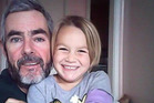Alan Langdon (49) and his daughter Que Langdon (6) have been missing since December 17 since leaving Kawhia in their six metre catamaran. Photo / Supplied