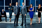Suits - Season 2. Meghan Markle as Rachel Zane (Second in from the right). Photo / AP