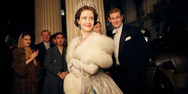 A scene from the Netflix series, The Crown.