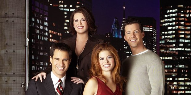 The cast of Will and Grace. Photo/Supplied