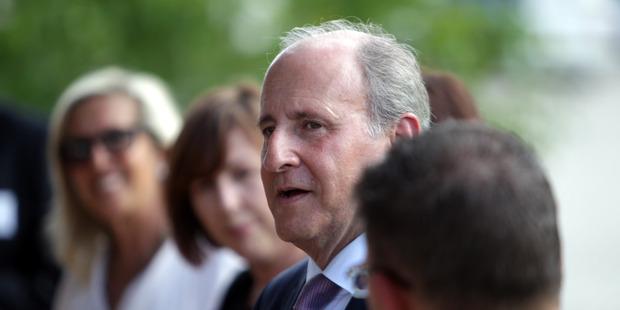 US Ambassador Mark Gilbert. Hawke's Bay Today Photograph by Paul Taylor
