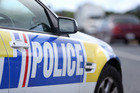 Four youths were taken into custody after they were spotted in a stolen car in Manurewa today. PHOTO/Michael Cunningham