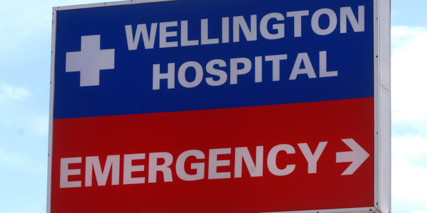 Drunk friends were breathalysed and barred entry to Wellington Hospital's emergency department during New Year's. File photo/Ross Setford
