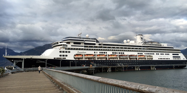 Catherine is second in command of the Holland America Line ship Zaandam. PHOTO/SUPPLIED