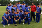 The Bay of Plenty Indians celebrate after winning the New Zealand Indian Sports Association cricket tournament for the second time. PHOTO/ SUPPLIED