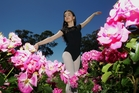 BLOOMING: Local ballerina Tayla-Rose Frisby's dancing aspirations are being fulfilled thanks to the support of her community. PHOTO/PAUL TAYLOR.