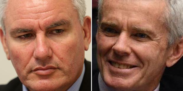 Labour's Kelvin Davis, left, and One Nation Senator Malcolm Roberts. Photos / Supplied