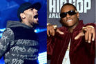Chris Brown and Soulja Boy set for boxing showdown to settle feud. Photos/Getty Images
