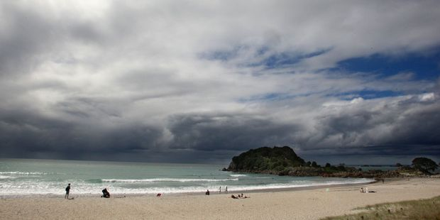 Two men have been arrested after two teen girls were indecently assaulted at Mount Maunganui early today. Photo/file