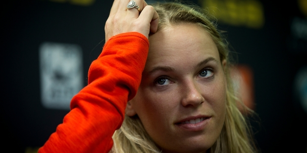 Caroline Wozniacki does not want to put herself under undue pressure. Photo / Dean Purcell