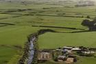 A fenced and planted waterway on a farm near Mt Taranaki. Photo / Supplied