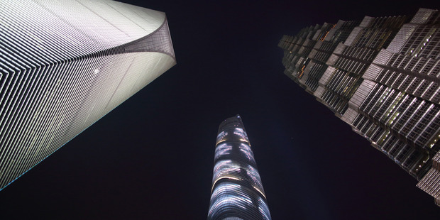 """The vast majority of elevators installed around the world have been placed in China, where rapid urbanization has met with a desire for ambitious """"super-tall"""" skyscrapers. Photo / The Washington Post"""
