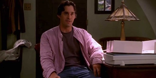 Nicholas Brendon as Xander Harris in the tv series, Buffy the Vampire Slayer.