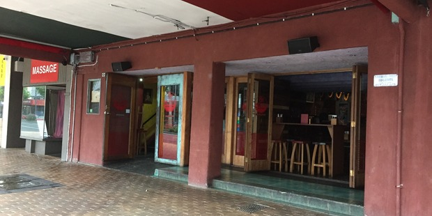 Hamilton's Mexico restaurant was being aired this morning after a small fire damaged part of the downstairs seating area of the building. Photo / Belinda Feek