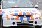 Police said a green van travelling south on Arundel Rakaia Rd crashed into a bridge. Photo / File