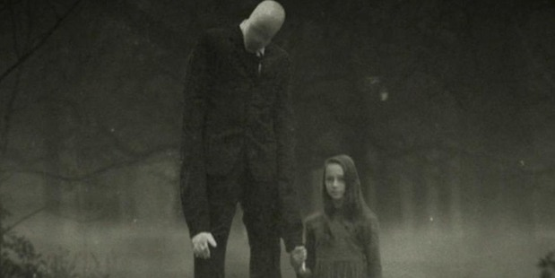 One of the many fake images created to celebrate the Slenderman. Photo/IGN.