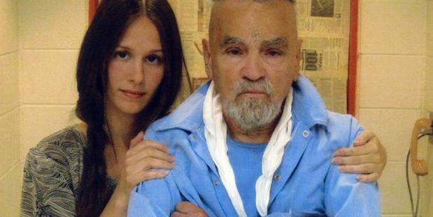 Star claims Charles Manson, 82, should be released from prison to save the planet. Photo / Manson Direct