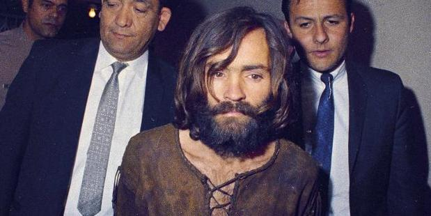 Charles Manson believed he was the second coming of Christ. Photo / AP