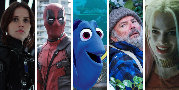 Some of the top 10 movies of 2016 at the New Zealand box office