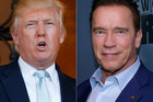 Donald Trump has taken a swipe at his Celebrity Apprentice replacement Arnold Schwarzenegger. Photo / AP