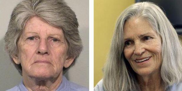 Petricia Krenwinkel, left, and Lesie van Houten continue to apply for parole. Photos / California Dpt of Correctionis/ AP