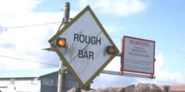 Westport is notorious for its tricky bar crossing. Photo / Supplied