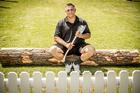 Jason Wynyard is an eight-time world wood chopping champion. Photo / Michael Craig