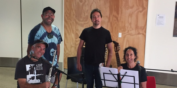 Moana Maniapoto, Warren Maxwell, Rob Ruha and Jon Toogood present Revolutions at the Auckland Arts Festival