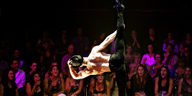 Pole artist Hamish McCann shows what it takes to defy gravity.