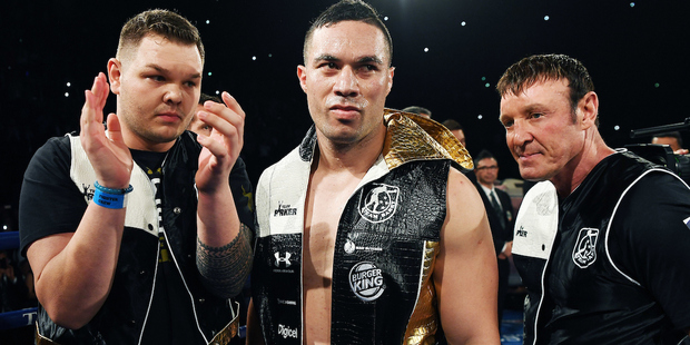 Joseph Parker, like the world's other elite heavyweights, would likely view a fight against Tony Bellew as lucrative and relatively risk free. / Photo: Photosport