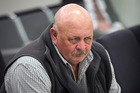 Graham Kennett, the truck driver with the digger who caused a crash on the motorway appears in the Auckland District Court. 17 February 2017. New Zealand Herald photo by Jason Oxenham.