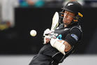 Luke Ronchi was dismissed cheaply at Eden Park to continue a wretched run of form. Photo / photosport.nz