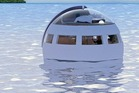 Huis Ten Bosch, in Sasebo, Japan is creating floating sleeping capsules to allow visitors to drift off to different attractions while they slumber. Photo / Huis Ten Bosch via Kyodo News