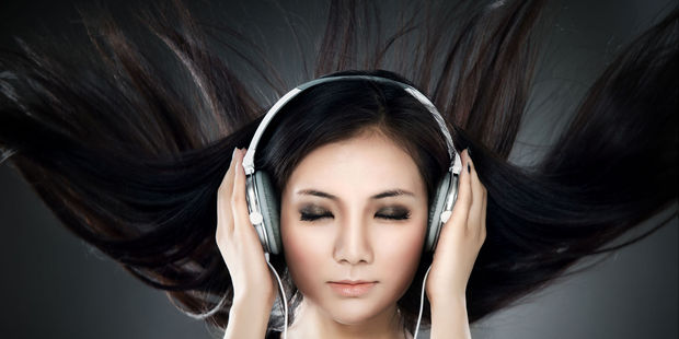 Users listened to music while wearing wireless headphones that contained brain wave sensors. Photo / 123RF
