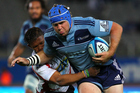 Hooker James Parsons returns to the Blues for their crunch match against the Highlanders at Eden Park. / Photo: Photosport