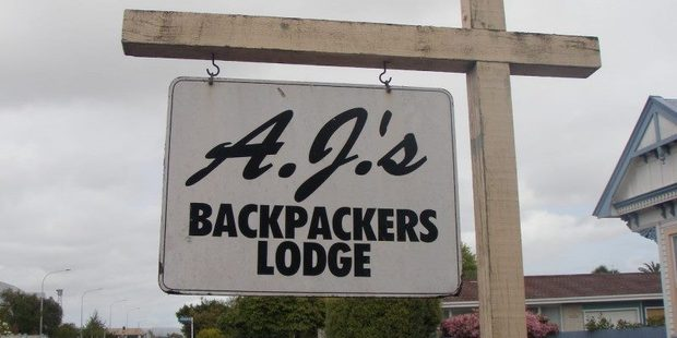 A.J.'s Backpacker Lodge in Hastings' Southland Rd in the centre of town has been listed for $655,000; just $23,651 more than QV's national average. Photo/Trade Me