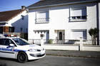 The house belonging to the missing Troadec family in Orvault, near Nantes, western France. Photo / AP
