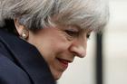 British Prime Minister, Theresa May. Photo / AP