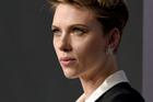 Scarlett Johansson has issued a fiery statement about her divorce, saying she will never comment. Photo/AP