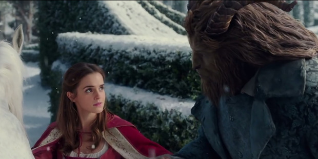 Loading Emma Watson and Dan Stevens in Beauty and the Beast. Photo / supplied