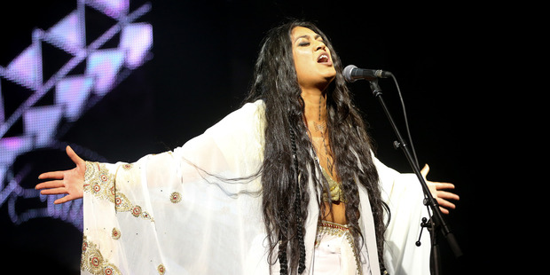 Aarandhna is a Taite Music Prize finalist for her fourth studio album Brown Girl. Photo / nzherald