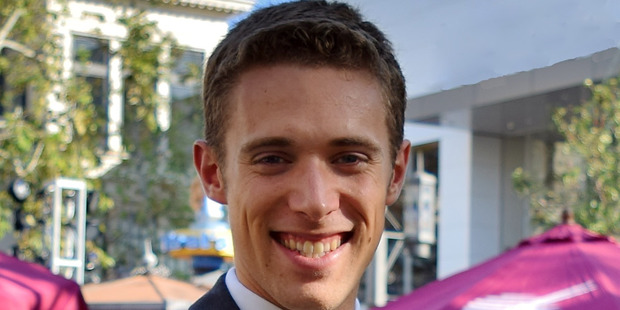 Nate Hovee has been a cabin crew member with Qatar Airways for two years. Photo / Supplied