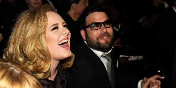 Adele and her husband Simon Konecki. Photo / Getty