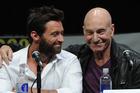 Actors Hugh Jackman and Patrick Stewart. Photo / Getty