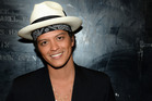 Bruno Mars will performing at the iHeartRadio Music Awards. Photo / Getty