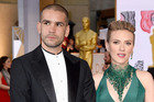 Actress Scarlett Johansson and her ex-husband Romain Dauriac. Photo / Getty