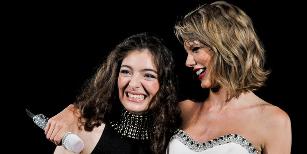 Loading Taylor Swift and Lorde are close friends. Photo / Getty