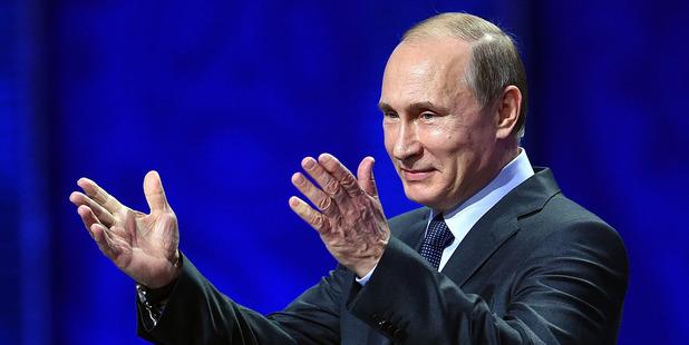 Vladimir Putin, President of Russia. Photo / Getty