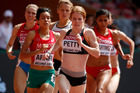 Angie Petty in action at the 15th IAAF World Athletics Championships Beijing. Photo / Getty Images