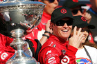 Kiwi driver Scott Dixon will be hoping to win his fifth championship the year. Photo / Getty